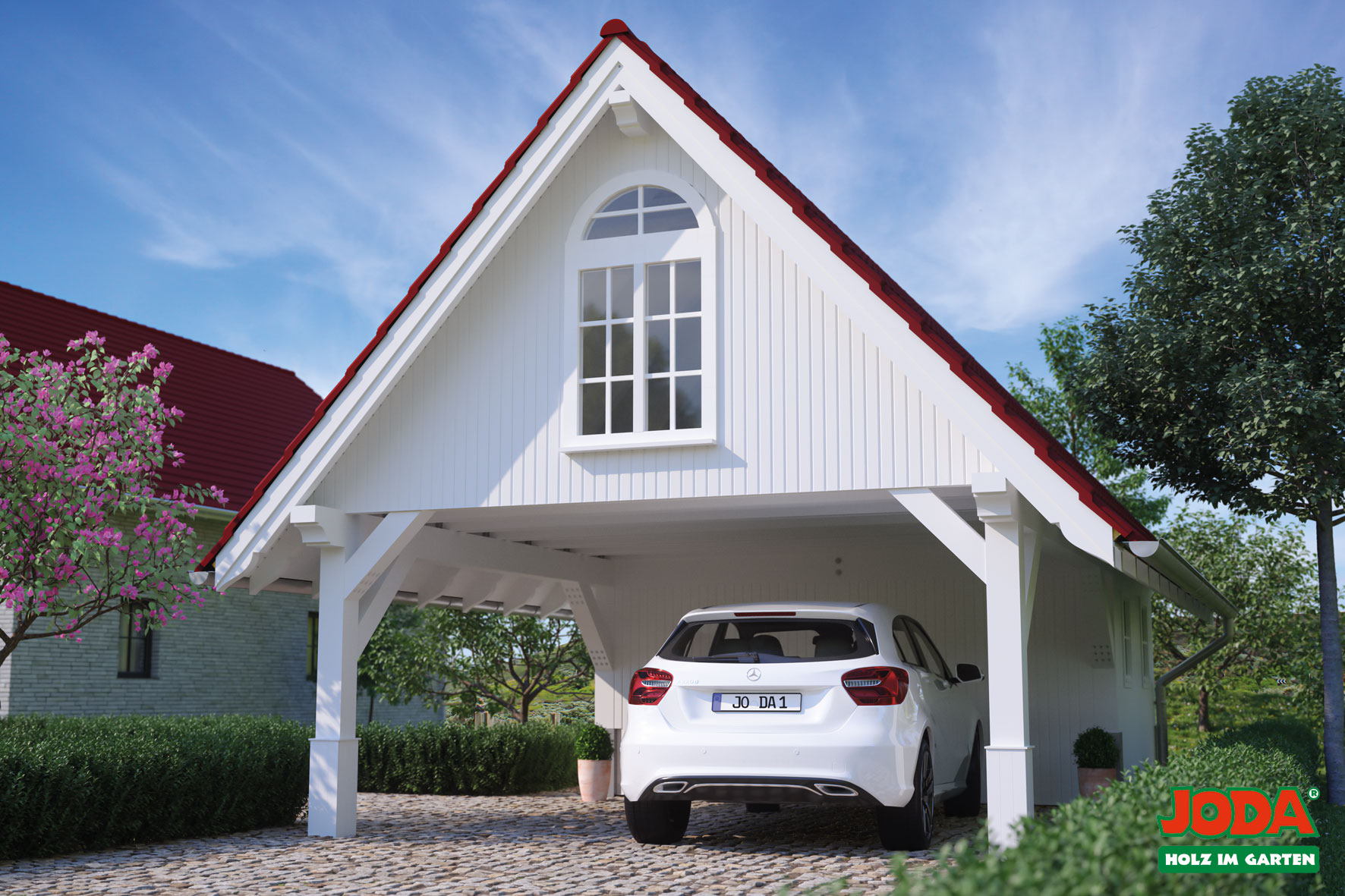 Carports holz dahlinger for Joda carport