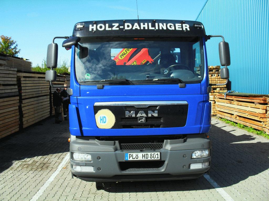 Anlieferung Holz Dahlinger