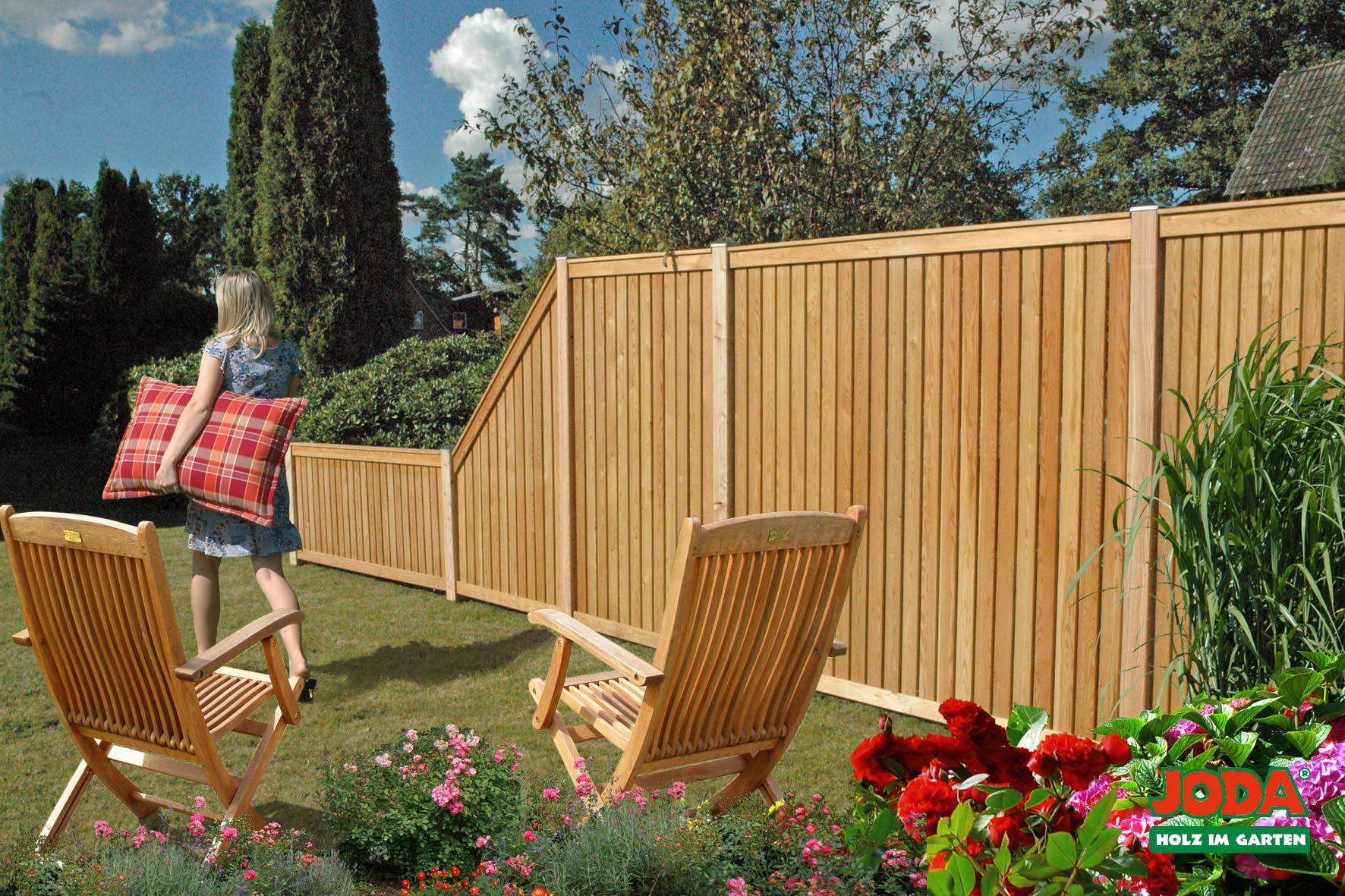 Garten sichtschutzelemente for Ideen fur terrassenbau
