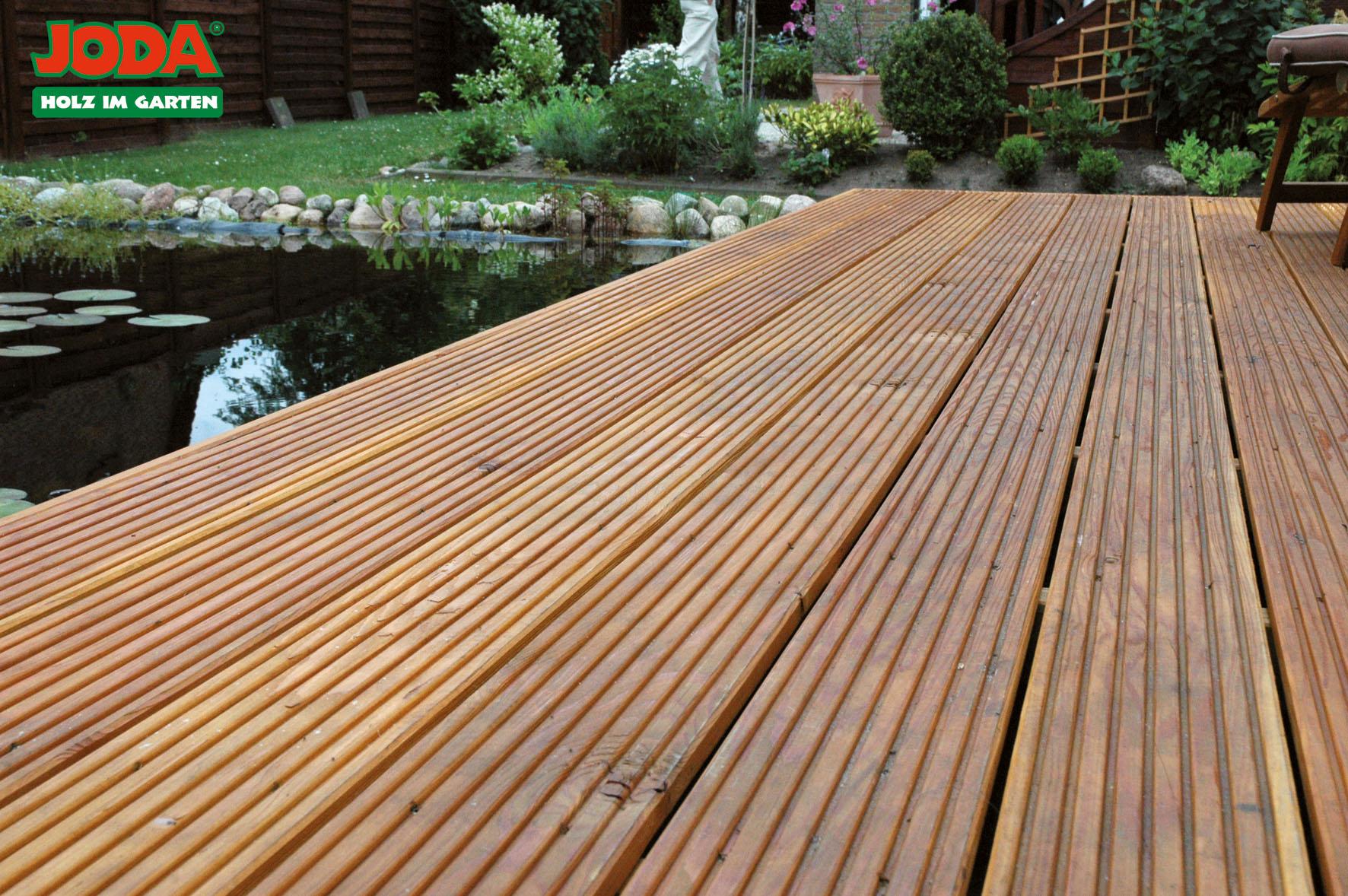 Terrassendielen Holz Dahlinger