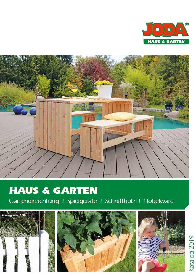 Joda Holz im Garten-Katalog 2018
