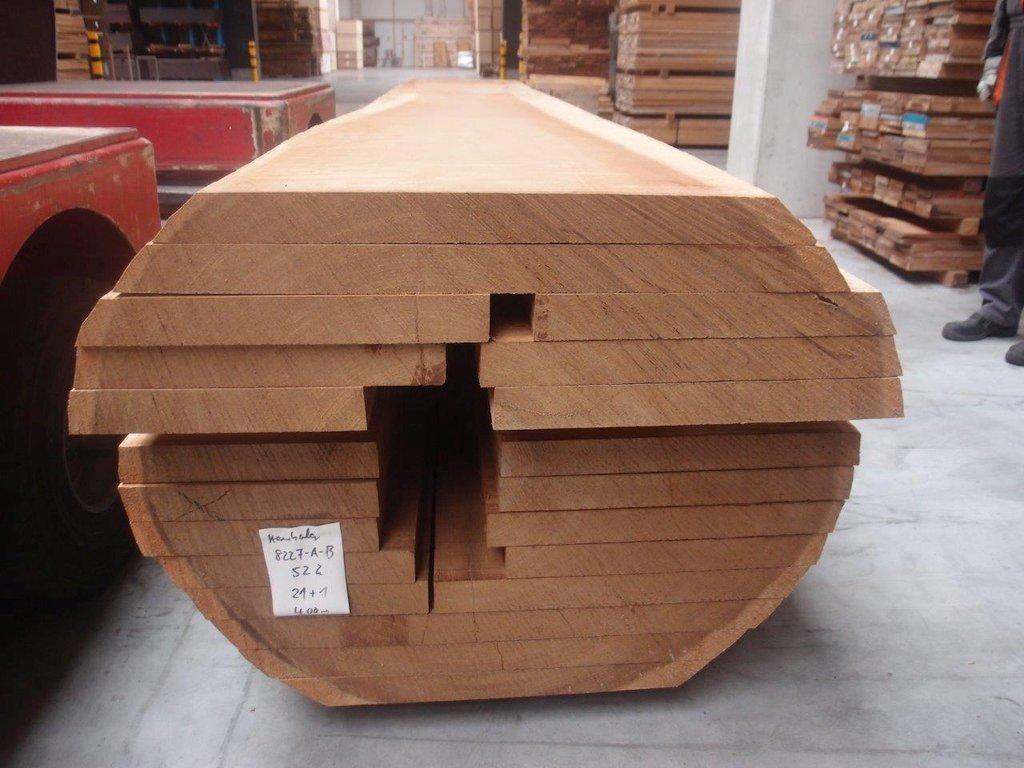 Kambala Holzbohlen